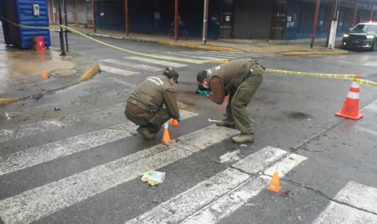Tres heridos dejó riña tras una discusión iniciada en una fonda de Paillaco: Un apuñalado está grave