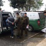 Presos quedaron tres individuos por robo en Paillaco: Los capturaron tras persecución policial hacia Valdivia