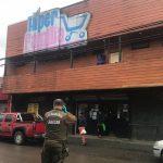 Investigan millonario robo en conocido supermercado de Mariquina